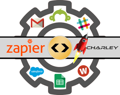 Charley Adds Zapier Integration
